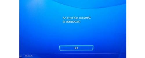 How to fix ps4 error code np-40833-8